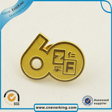 Classic Equipo Vision Gold Eagle Soft Enamel Pin Badge