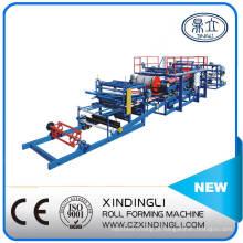 Linha de produção de máquina formadora de rolos de painel sanduíche de alta qualidade