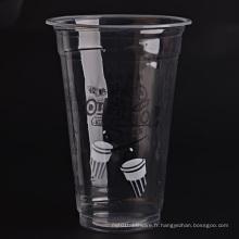 Coupes en plastique pour milk-shakes et cocktails surgelés