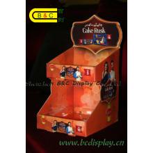 Boîte de présentation imprimée par PDQ de haute qualité de vente chaude, boîte de papier de contre avec GV (B & C-D059)