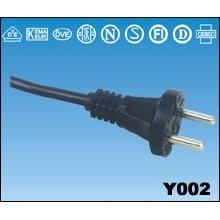 Vends cordon d'alimentation de Sets de ca européen Type Power Extension cordon câble