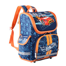 Light weight Kids Car Printed Children EVA Hard Shell School Bag for Boys