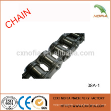 Short pitch stainless steel roller chains 08A-1