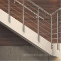 Customized baluster design handrail bracket for tube stair baluster