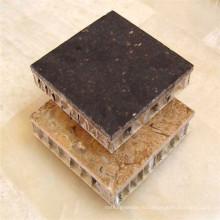 Стеновые панели из композитных панелей из сотового камня
