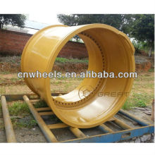 Huge OTR engineering rim for crane, Minig truck and others (wheel size from 8inch to 63inch)