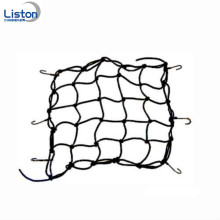 Elastic cargo net bungee strap with hooks