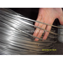 5.1mmx1.5mm Galvanized Flat Steel Wire