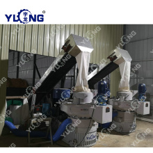 5-7 T/H wood pellet line production
