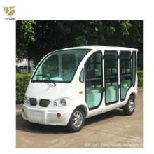 Electric Sightseeing Vehicle Tourist Car Golf Buggy 6 Seaters