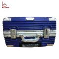 Mala de viagem de alumínio da bagagem TSA do fechamento da bagagem do portátil da cabine dentro da mala de viagem do curso