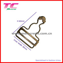 Bestehende Form Antike Messing Metall Hosenträger Adjuster Gürtelschnalle