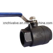 Válvula de bola de acero completo de carbono