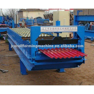 JCX roll shutter door forming machine