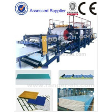 the Complete EPS Sandwich Panel Production Line