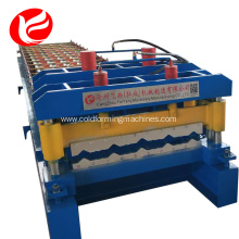 Steel glazed tile roll forming production line machine