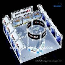 Contratante modular da exposição do projeto da cabine de exposição para o suporte de exposição Shanghai da feira profissional