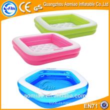 Mini piscina inflable al aire libre rosada para los niños, piscinas inflables del agua para los cabritos