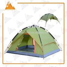 210 * 180 * 130 cm doble capa 3-4 personas carpa automático Camping al aire libre