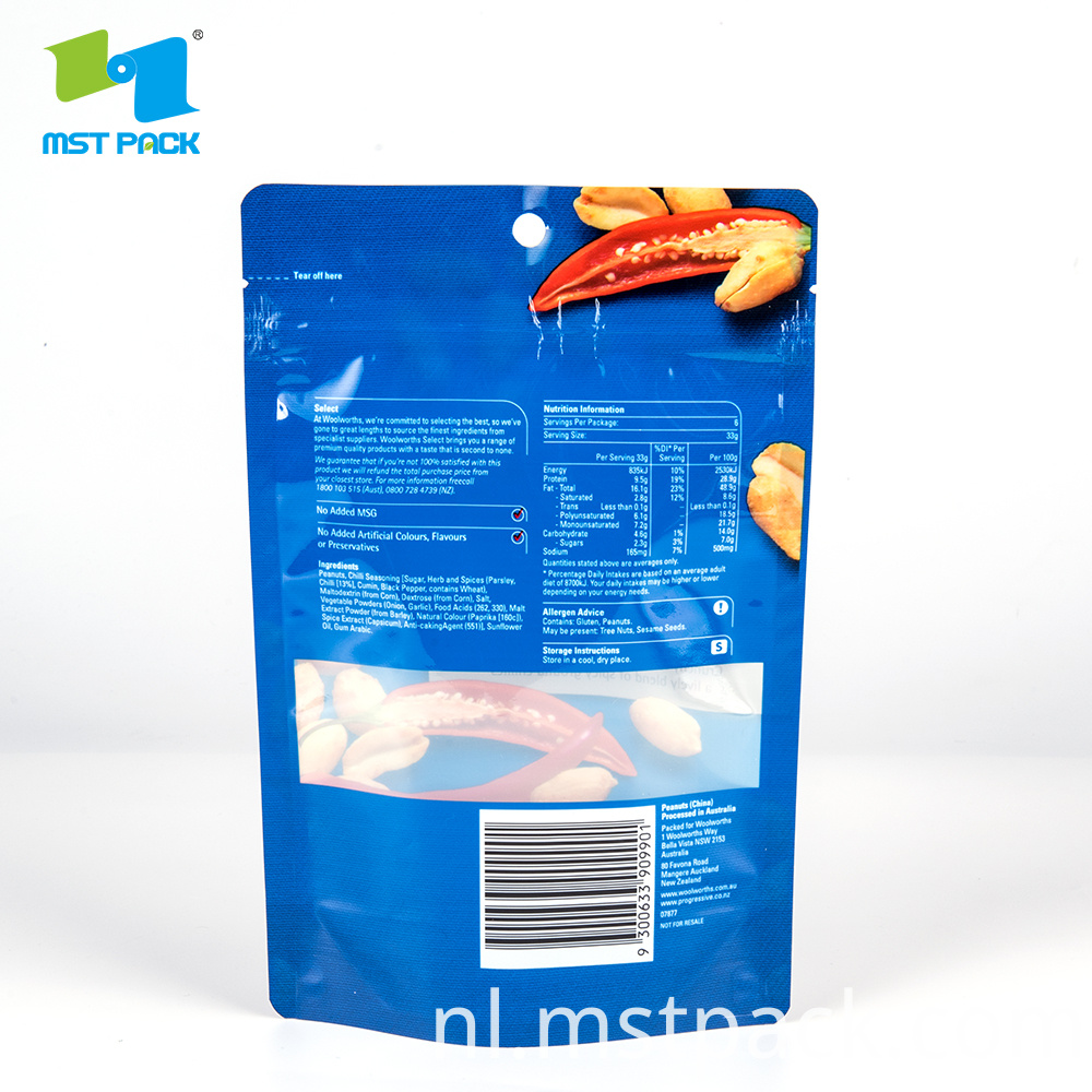 Ziplock Stand Up Bags For Nuts