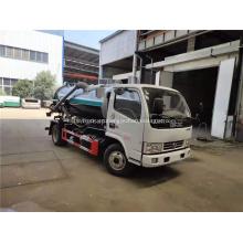 Camión de vacío de camión de succión fecal de 5cbm