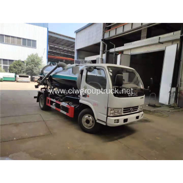 5cbm fecal suction truck vacuum truck