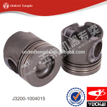 Genuine yuchai engine piston J3200-1004015 for YC6J