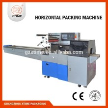 Egg rolls flow packing machine, automatic flow packing machine, bread flow packing machine
