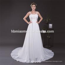 Чистый Белый Спагетти Ремень Sexy Длинный Хвост Платье Для Полных Женщин Один Кусок Девочки Партия Носить Плюс Размер Вечернее Платье