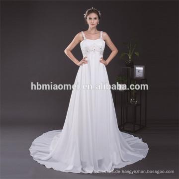 Reines weißes Spaghetti-Bügel-reizvolles langes Schwanz-Kleid für fette Frauen-einteiliges Mädchen-Partei-Abnutzung plus Größen-Abend-Kleid