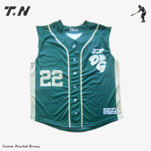 OEM Sublimación profesional de béisbol Jersey y OEM Sublimación Jerseys de béisbol y servicio de OEM Béisbol