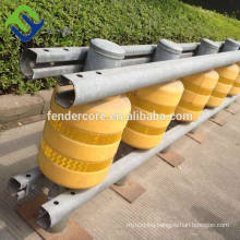 Good material highway guardrail Safety roller barrier