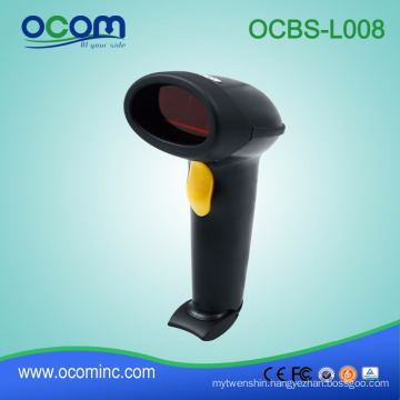China manufactures supermarket long range handheld 1d laser USB barcode scanner machine price