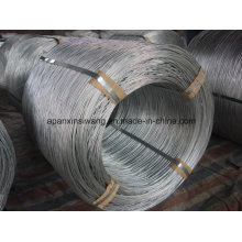 Alambre galvanizado de la bobina grande