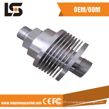 Точность автоматического алюминий подвергли части механической обработке CNC подвергая механической обработке