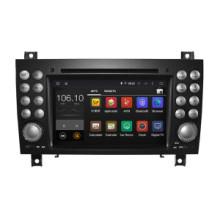 Navegación del coche DVD GPS del androide 5.1 / 1.6 GHz para la radio baja DVD de Mercedes Benz con el teléfono Connectin Hualingan