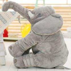 Elephant pillow Baby pillow
