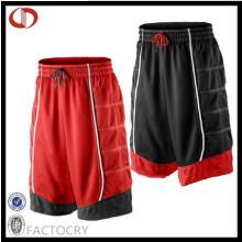 China Pantalones cortos baratos del baloncesto de los hombres de encargo