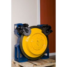 Elevator Part,VVVF lift/elevator Traction Machine, 320kg-2500kg
