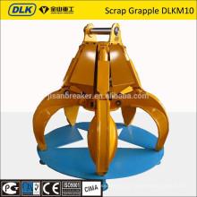 para sucata de escavadeira de 26-35 toneladas grapple DLKM10