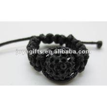 2013 anillos tejidos manera del shamballa