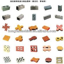 QT4-15d hydroform automatic concrete block machine,colour paver block machine,hollow brick machine