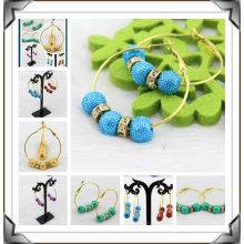 Fashion DIY Basketball Wives Earrings Colorful Hoop Earrings BWE28