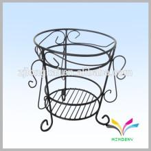 Chine fabricant vente chaude haute qualité antique fantaisie décoratif métal extérieur jardin coin fleur pot stand