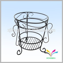 China manufacturer hot sale high quality antique fancy decorative metal outdoor garden corner flower pot stand