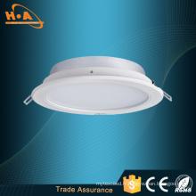 Downlight commercial commercial de l'intense luminosité LED 12 / 15W