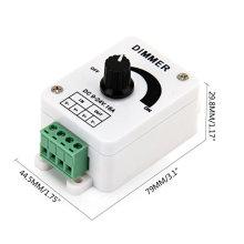 Полезные dc9 не-24В 16А ШИМ Регулятор диммер контроллер для одного цвета светодиодные полосы, светодиодные фонари с заводской цене