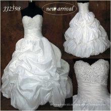 JJ2598 KEIN Endstück Ballkleid Hochzeitskleid königlichen Kleid Hochzeit