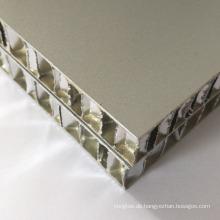 Aluminium-Verbundwabenplatte für Wandverkleidungen