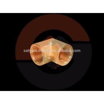 Latón codo femenino de 90 grados con NPT, BSP, o cualquier otro hilo con níquel / cromo
